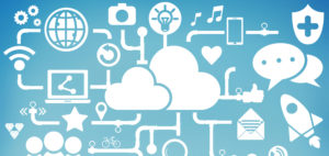 Tech Illustration Background