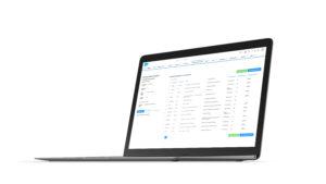 Laptop using Salesforce Addon Datarista